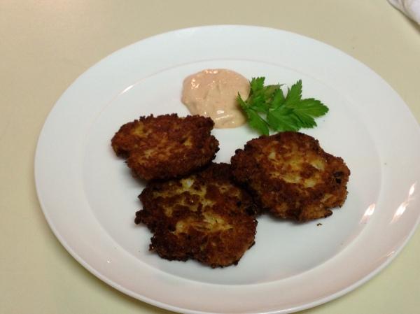 Gluten-free Cauliflower Crab Cakes