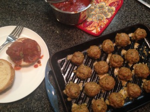 Italian GFCF Turkey Meatballs