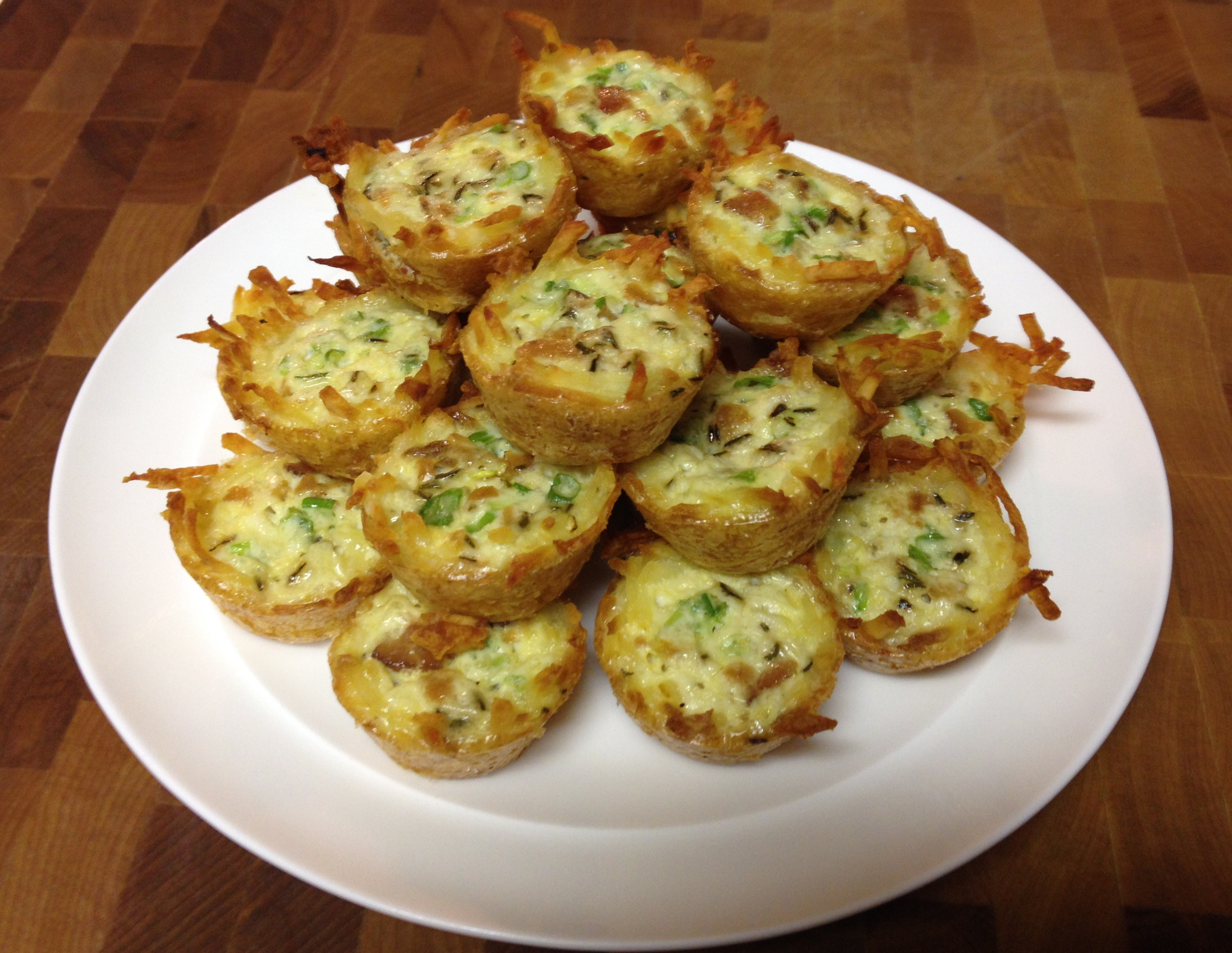 No Cheese Mini Quiches #glutenfree - The Weekly Menu