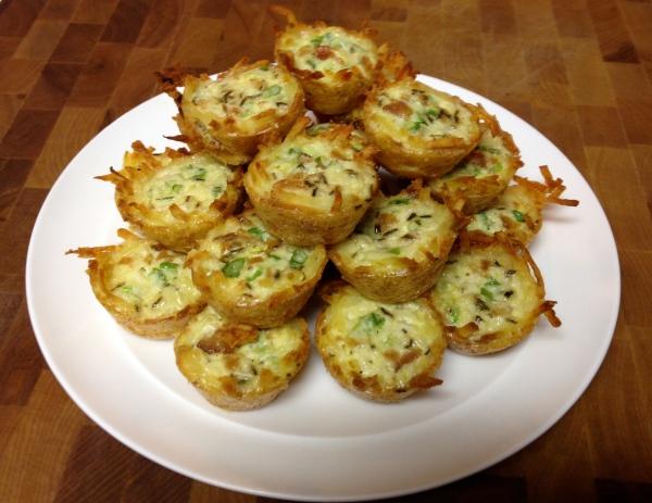 Gluten-free No Cheese Mini Quiches
