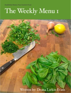 The Weekly Menu I Cover
