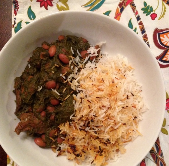 Persian Herb Stew & Rice
