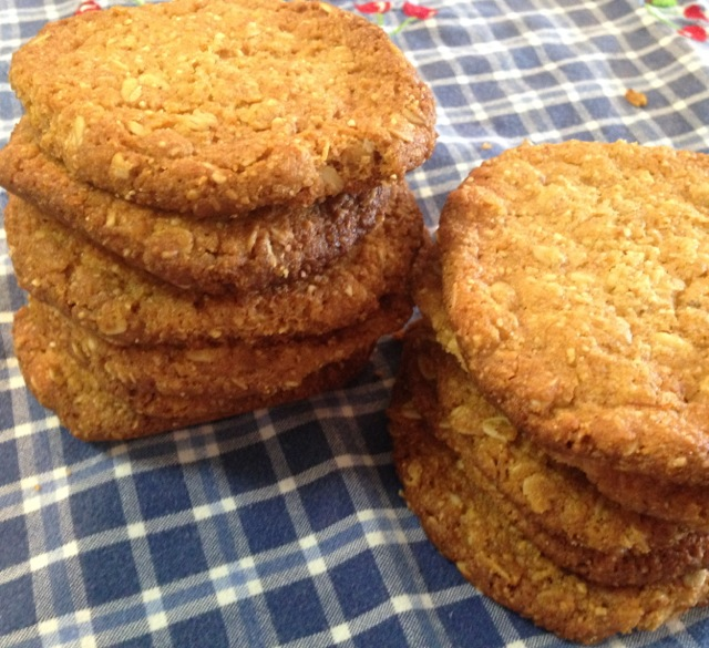Orange Marmalade Oatmeal Cookies