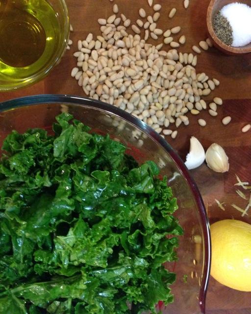Kale Pesto Ingredients