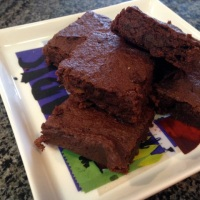 Sweet Potato Brownies from The Weekly Menu Cookbook