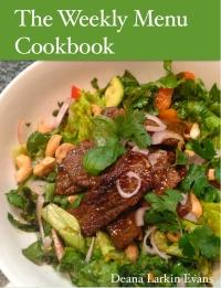 The Weekly Menu Cookbook Cover