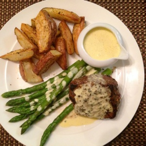 Steaks with Faux Béarnaise