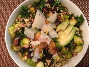 Kale Salad with Fig Balsamic
