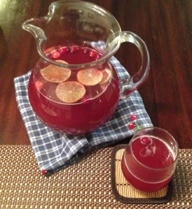 Homemade Cranberry Juice Skinny Margaritas